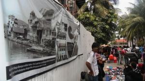 Pedagang Kaki Lima di Kota Tua