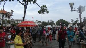 Pengunjung Membanjir di Libur Panjang Akhir Tahun 2015